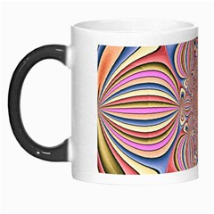 Pastel Shades Ornamental Flower Morph Mugs