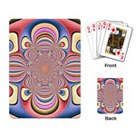Pastel Shades Ornamental Flower Playing Card Back