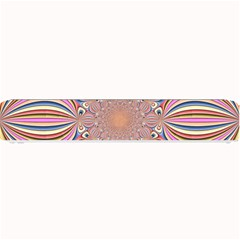 Pastel Shades Ornamental Flower Small Bar Mats