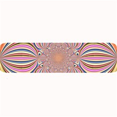 Pastel Shades Ornamental Flower Large Bar Mats