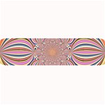 Pastel Shades Ornamental Flower Large Bar Mats 34 x9.03 Bar Mat - 1