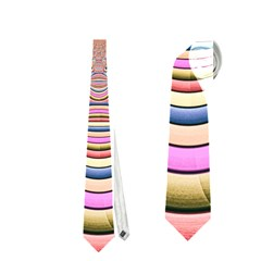 Pastel Shades Ornamental Flower Neckties (One Side)
