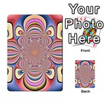 Pastel Shades Ornamental Flower Multi-purpose Cards (Rectangle)  Back 40