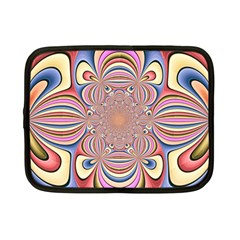 Pastel Shades Ornamental Flower Netbook Case (Small)
