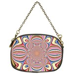Pastel Shades Ornamental Flower Chain Purses (One Side)  Front