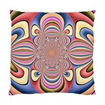 Pastel Shades Ornamental Flower Standard Cushion Case (Two Sides) Back
