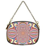 Pastel Shades Ornamental Flower Chain Purses (Two Sides)  Front