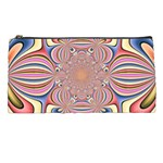 Pastel Shades Ornamental Flower Pencil Cases Front