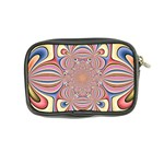 Pastel Shades Ornamental Flower Coin Purse Back