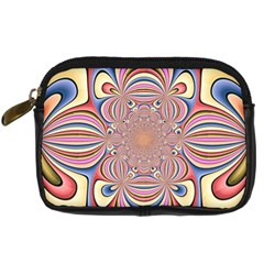Pastel Shades Ornamental Flower Digital Camera Cases