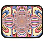 Pastel Shades Ornamental Flower Netbook Case (XL)  Front