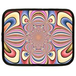 Pastel Shades Ornamental Flower Netbook Case (XXL)  Front