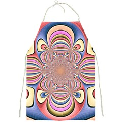 Pastel Shades Ornamental Flower Full Print Aprons