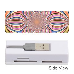 Pastel Shades Ornamental Flower Memory Card Reader (Stick)