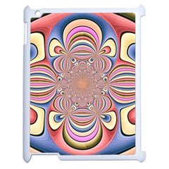 Pastel Shades Ornamental Flower Apple Ipad 2 Case (white)
