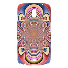 Pastel Shades Ornamental Flower Samsung Galaxy Nexus i9250 Hardshell Case