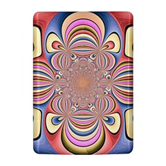 Pastel Shades Ornamental Flower Kindle 4