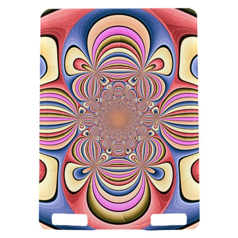 Pastel Shades Ornamental Flower Kindle Touch 3G
