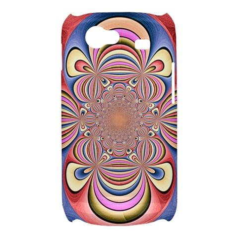 Pastel Shades Ornamental Flower Samsung Galaxy Nexus S i9020 Hardshell Case