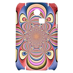 Pastel Shades Ornamental Flower Samsung S3350 Hardshell Case
