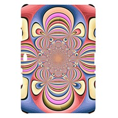 Pastel Shades Ornamental Flower Samsung Galaxy Tab 10.1  P7500 Hardshell Case