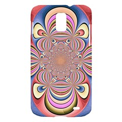 Pastel Shades Ornamental Flower Samsung Galaxy S II Skyrocket Hardshell Case