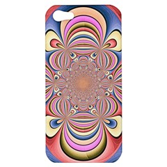 Pastel Shades Ornamental Flower Apple Iphone 5 Hardshell Case