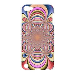 Pastel Shades Ornamental Flower Apple iPod Touch 5 Hardshell Case
