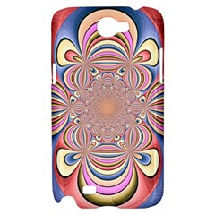 Pastel Shades Ornamental Flower Samsung Galaxy Note 2 Hardshell Case