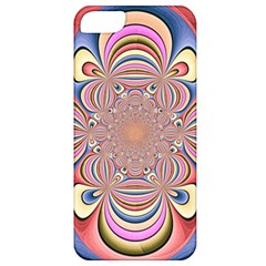 Pastel Shades Ornamental Flower Apple iPhone 5 Classic Hardshell Case