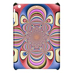 Pastel Shades Ornamental Flower Apple iPad Mini Hardshell Case