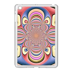 Pastel Shades Ornamental Flower Apple Ipad Mini Case (white)