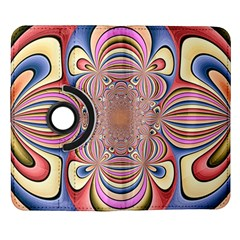 Pastel Shades Ornamental Flower Samsung Galaxy Note II Flip 360 Case