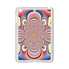 Pastel Shades Ornamental Flower iPad Mini 2 Enamel Coated Cases