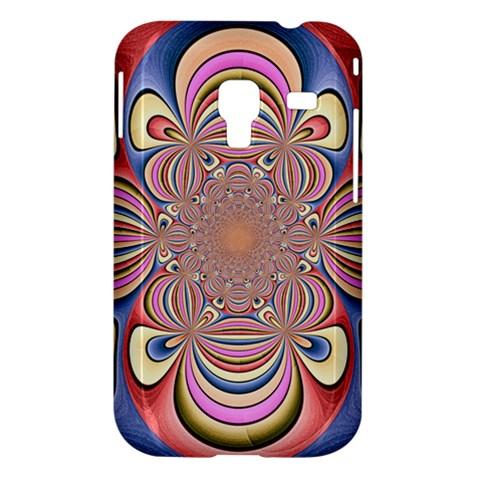 Pastel Shades Ornamental Flower Samsung Galaxy Ace Plus S7500 Hardshell Case