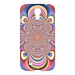 Pastel Shades Ornamental Flower Samsung Galaxy S4 I9500/i9505 Hardshell Case