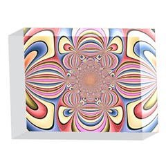 Pastel Shades Ornamental Flower 5 x 7  Acrylic Photo Blocks