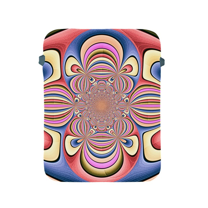Pastel Shades Ornamental Flower Apple iPad 2/3/4 Protective Soft Cases
