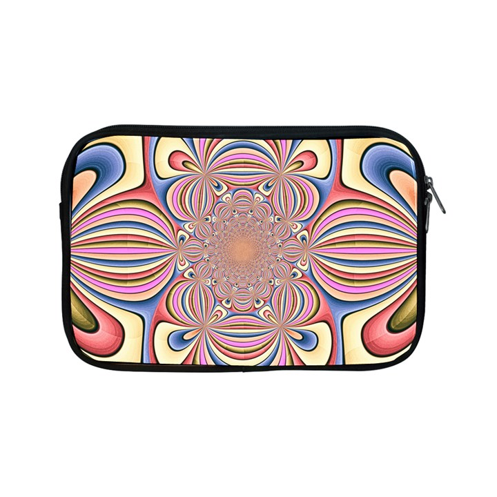 Pastel Shades Ornamental Flower Apple iPad Mini Zipper Cases