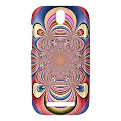 Pastel Shades Ornamental Flower HTC One SV Hardshell Case