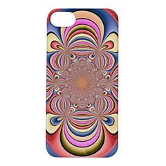 Pastel Shades Ornamental Flower Apple iPhone 5S/ SE Hardshell Case