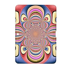 Pastel Shades Ornamental Flower Samsung Galaxy Tab 2 (10 1 ) P5100 Hardshell Case