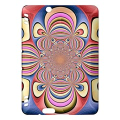 Pastel Shades Ornamental Flower Kindle Fire Hdx Hardshell Case