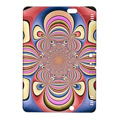 Pastel Shades Ornamental Flower Kindle Fire Hdx 8 9  Hardshell Case