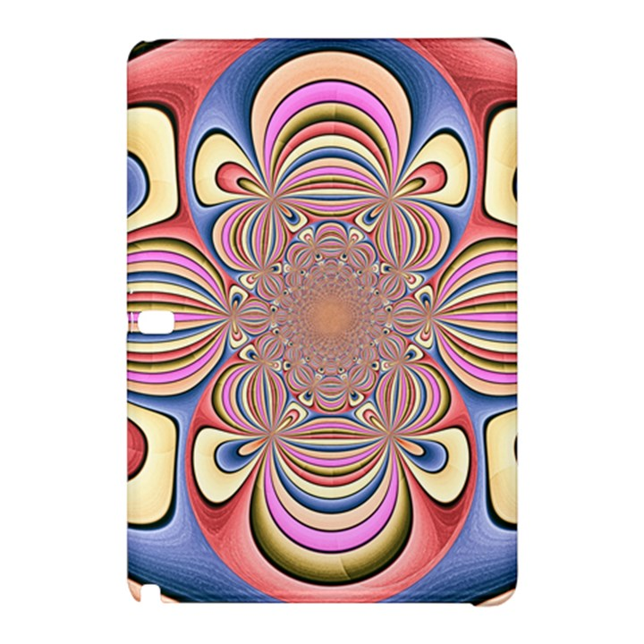 Pastel Shades Ornamental Flower Samsung Galaxy Tab Pro 10.1 Hardshell Case