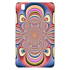 Pastel Shades Ornamental Flower Samsung Galaxy Tab Pro 8 4 Hardshell Case