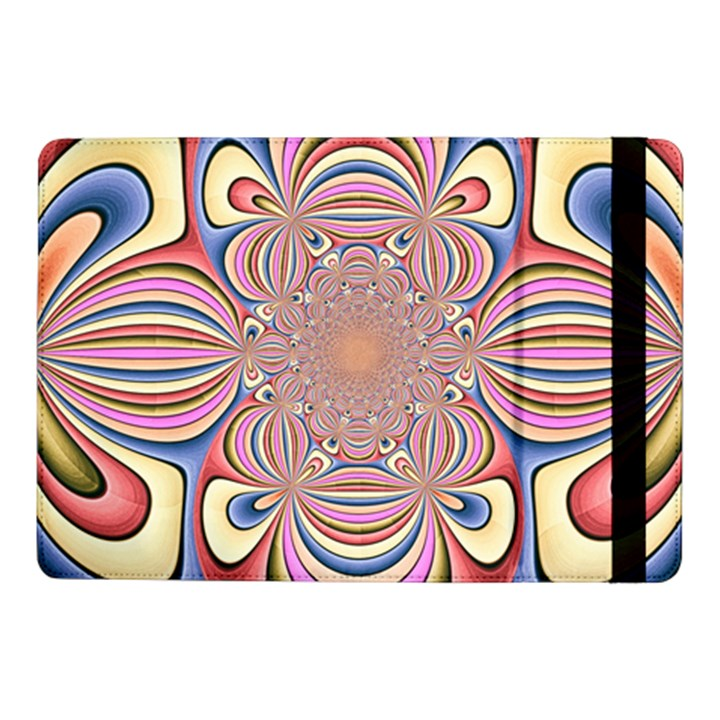 Pastel Shades Ornamental Flower Samsung Galaxy Tab Pro 10.1  Flip Case