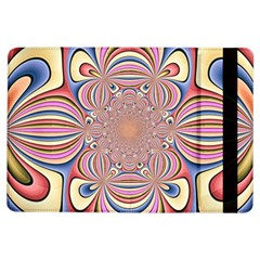Pastel Shades Ornamental Flower iPad Air Flip