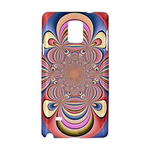 Pastel Shades Ornamental Flower Samsung Galaxy Note 4 Hardshell Case