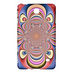 Pastel Shades Ornamental Flower Samsung Galaxy Tab 4 (7 ) Hardshell Case